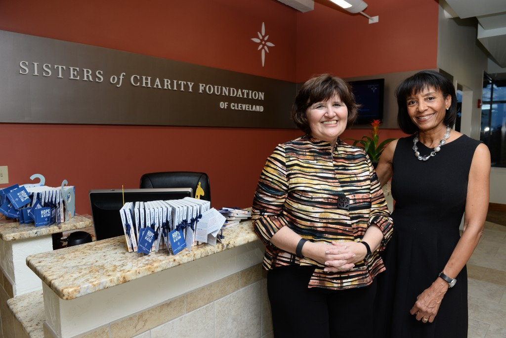 Susanna Krey, SOCF, and Faith Mitchell, GU
