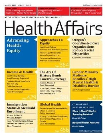 """We are honored to be featured in the """"Funders' Support Of #HealthEquity"""" roundup by Health Affairs!"""